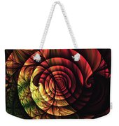 Touch Of Sunshine Abstract Weekender Tote Bag
