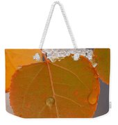 Touch Of Winter Weekender Tote Bag
