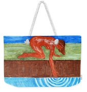 Touching The Stream Of Consciousness Weekender Tote Bag