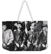Tough Men Of The Old West Weekender Tote Bag