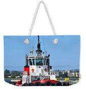 Tough Tugboat Weekender Tote Bag