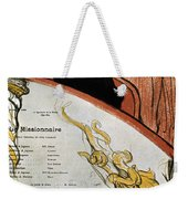 Toulouse-lautrec, 1893 Weekender Tote Bag