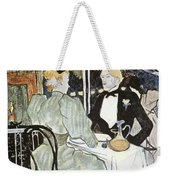 Toulouse-lautrec: Menu Weekender Tote Bag