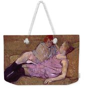 Toulouse Lautrec The Sofa Weekender Tote Bag
