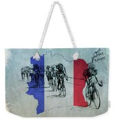 Tour De France Weekender Tote Bag