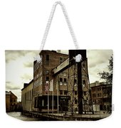 Tourist Office Norrkoping In Old Effect Weekender Tote Bag