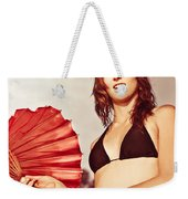Tourist On Asian Vacation Weekender Tote Bag