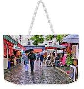 Tourists - Paris - Place Du Tertre Weekender Tote Bag