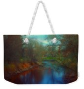 Toward The City Lights Weekender Tote Bag