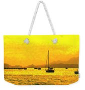 Towards Nevis Weekender Tote Bag