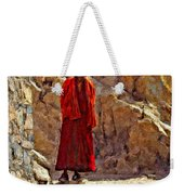 Towards Nirvana Impasto Weekender Tote Bag
