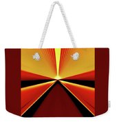 Towards The Streaking Sunrise Weekender Tote Bag