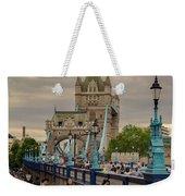 Towards Tower Bridge, London  Weekender Tote Bag