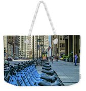 Towards Wrigley Building Weekender Tote Bag