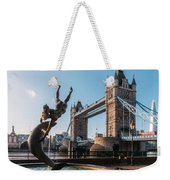 Tower Bridge, London, Uk Weekender Tote Bag