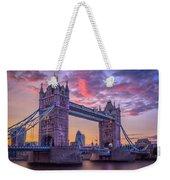 Tower Bridge Weekender Tote Bag