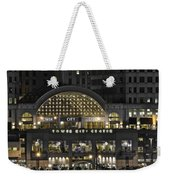 Tower City Close Up Weekender Tote Bag