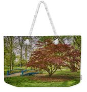 Tower Grove Arched Bridge And Maple Tree Dsc01828 Weekender Tote Bag