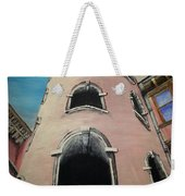 Tower In Lyon France Traboules Weekender Tote Bag