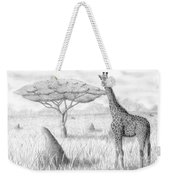 Tower In The Bush Weekender Tote Bag