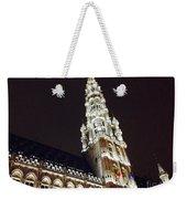 Brussels Tower Light Weekender Tote Bag