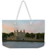 Tower Of London On The Thames Weekender Tote Bag