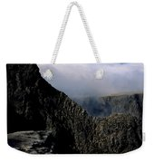 Tower Ridge From Ben Nevis Summit Fort William Lochaber Invernesshire Scotland Weekender Tote Bag