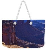 Tower Sunrise Weekender Tote Bag by Chad Dutson