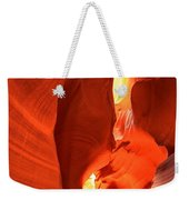 Towering Walls Of Antelope Canyon Weekender Tote Bag