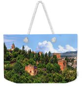 Towers Of The Alhambra Weekender Tote Bag