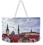 Towers Of The Tallinn Old Town Weekender Tote Bag
