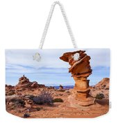 Towerscape Weekender Tote Bag by Chad Dutson
