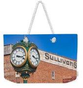 Town Clock Lincoln Nebraska Weekender Tote Bag