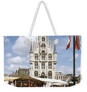 Town-hall And Marketplace Weekender Tote Bag