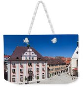 Town Hall And St. Martin Cathedral Weekender Tote Bag