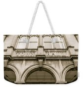 Town Hall, Arch And Windows Weekender Tote Bag