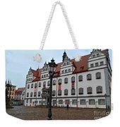 Town Hall Weekender Tote Bag