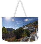Town In A Valley, Sacromonte, Granada Weekender Tote Bag