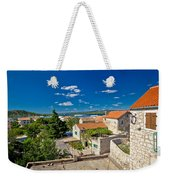 Town Of Betina Architecture And Coast Weekender Tote Bag