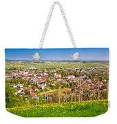Town Of Ivanec Aerial Springtime View Weekender Tote Bag