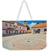 Town Of Ludbreg Square Vertical View Weekender Tote Bag