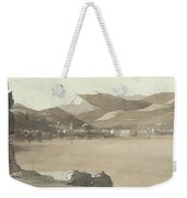 Town Of Lugano, Switzerland, 1781  Weekender Tote Bag