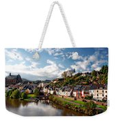 Town Of Saarburg Weekender Tote Bag
