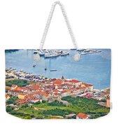 Town Of Seget Aerial View Weekender Tote Bag