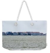 Town On The Water Weekender Tote Bag