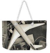 Toy Airplane Vintage Travel Weekender Tote Bag