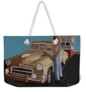 Toy Car Holiday Weekender Tote Bag