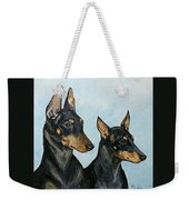 Toy Manchester Terriers Weekender Tote Bag