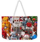 Toy Robots Weekender Tote Bag