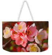 Toyo-nishiki Quince Blooms Weekender Tote Bag